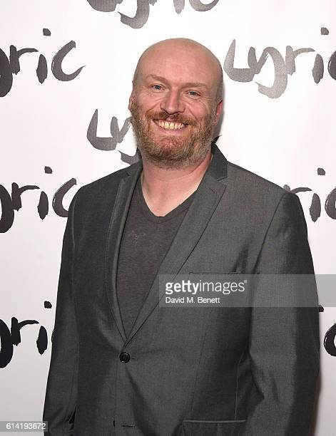 Mark Ravenhill attends the press night performance of 'Shopping And Fucking' at The Lyric Hammersmith on October 12 2016 in London England