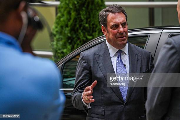 Mark Reuss executive vice president of global product development for General Motors Co speaks during a Bloomberg Television interview in New York US...