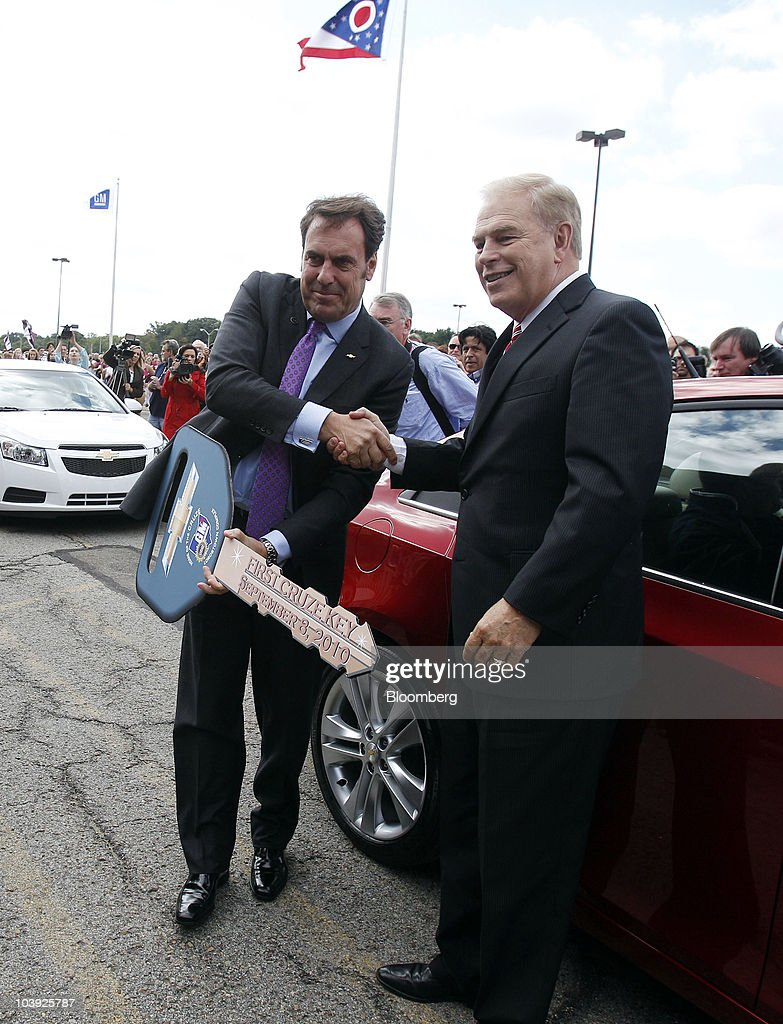 General Motors Co Chevrolet Cruze Launch Event Getty Images