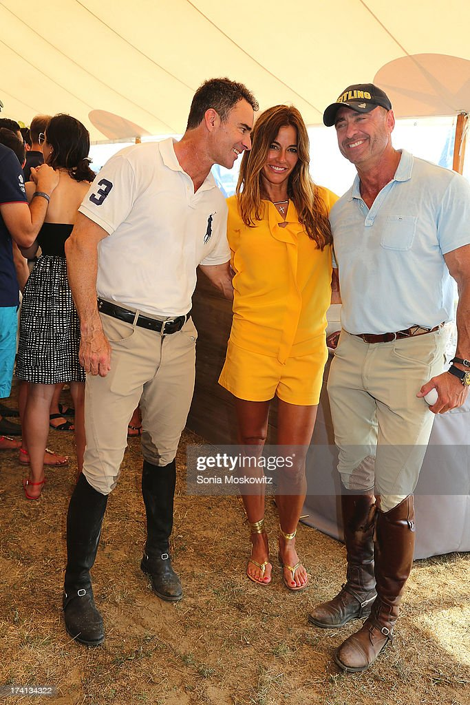 <a gi-track='captionPersonalityLinkClicked' href=/galleries/search?phrase=Mark+Reynolds&family=editorial&specificpeople=2343799 ng-click='$event.stopPropagation()'>Mark Reynolds</a>, Kelly Bensimon, and Thomas Moore III attend the opening day of the Bridgehampton Polo Club's 17th Season at the Bridgehampton Polo Club on July 20, 2013 in Bridgehampton, New York.
