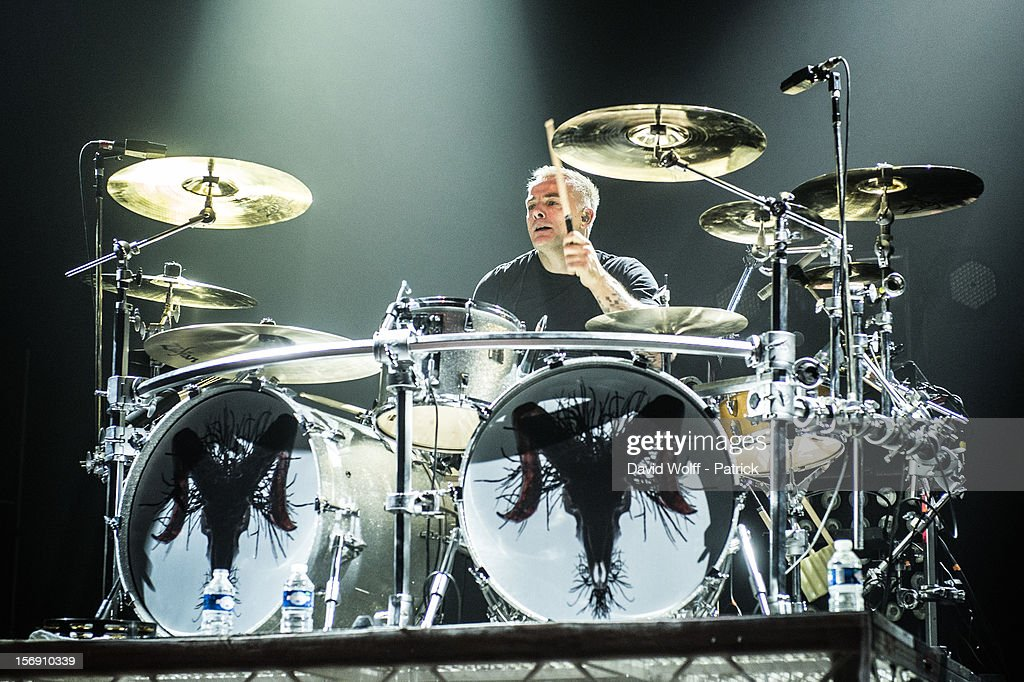 Mark Richardson from Skunk Anansie performs at Le Zenith on November 24, 2012 in Paris, France.