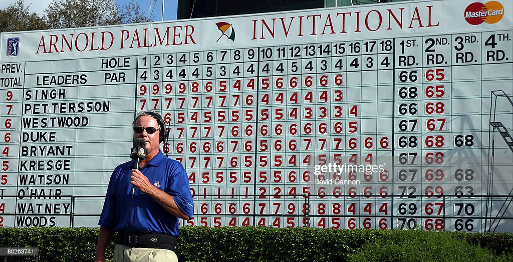 Arnold Palmer Invitational Scoreboard Southernsoulblog Com