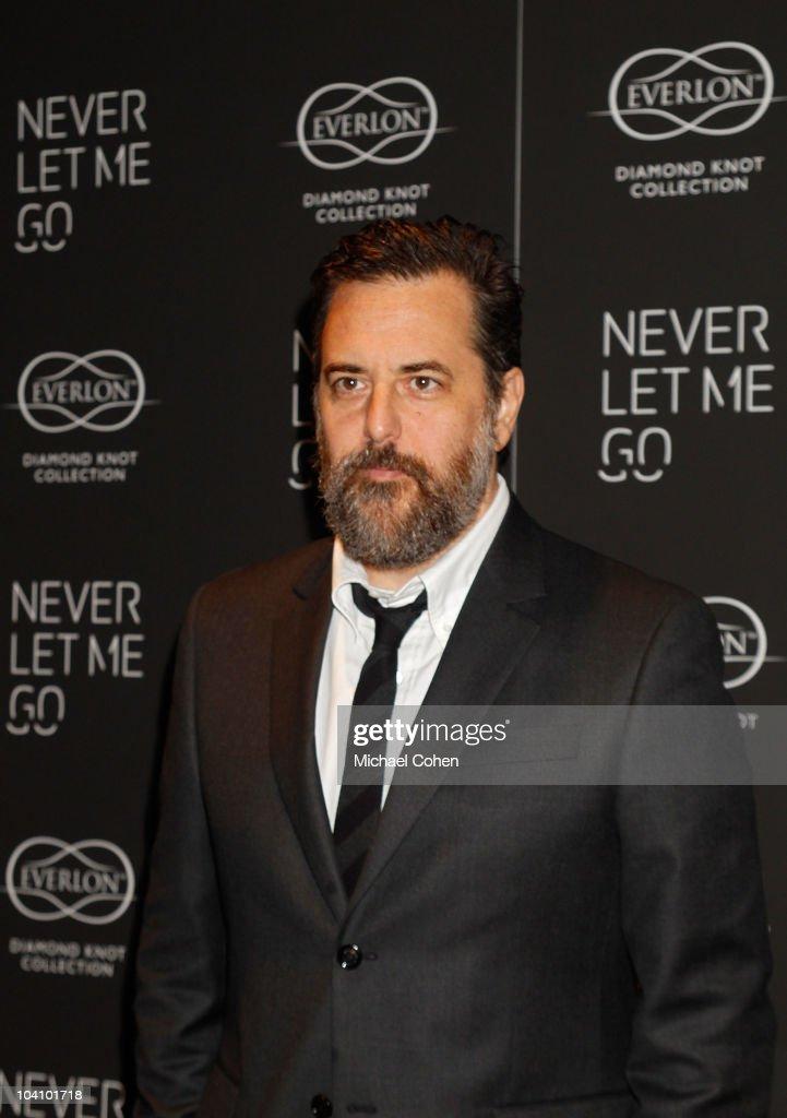 Mark Romanek attends the 'Never Let Me Go' premiere at Tribeca Grand Hotel on September 14, 2010 in New York City.