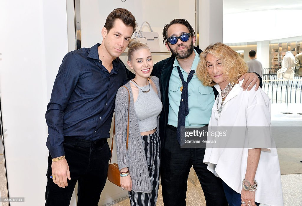 Mark, Ronson, Alexandra Parker; Alexandre Dexter-Jones and Ann Dexter-Jones attend Barneys New York, Ann Dexter-Jones, And Annabelle Dexter-Jones Host A Private Luncheon For Delvaux at Barneys New York Beverly Hills on May 24, 2016 in Beverly Hills, California.