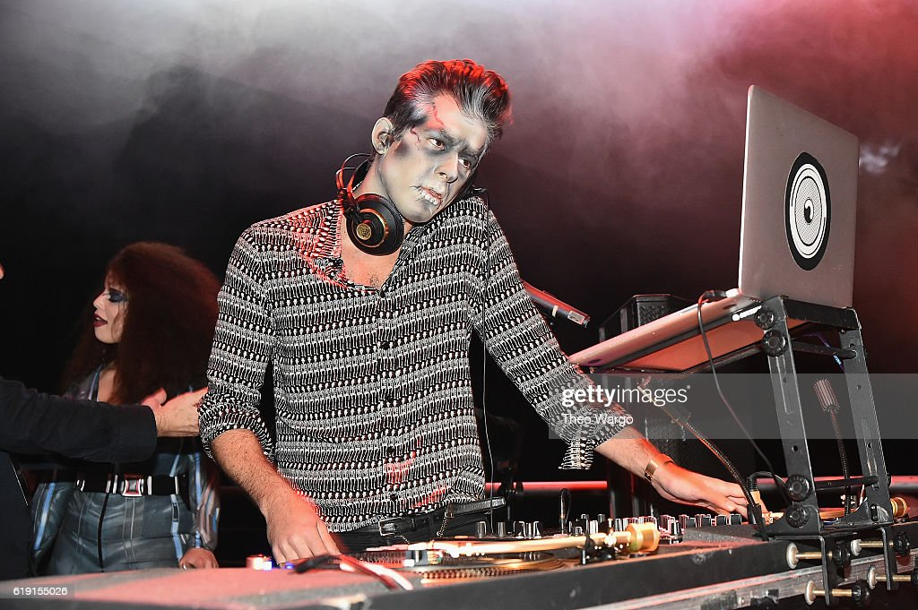 mark ronson attends bacardi x kenzo digital present we are the night halloween party - Brooklyn Halloween Party