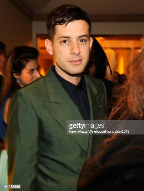 Mark Ronson attends the 2013 Amy Winehouse Foundation Inspiration Awards and Gala at The Waldorf=Astoria on March 21 2013 in New York City