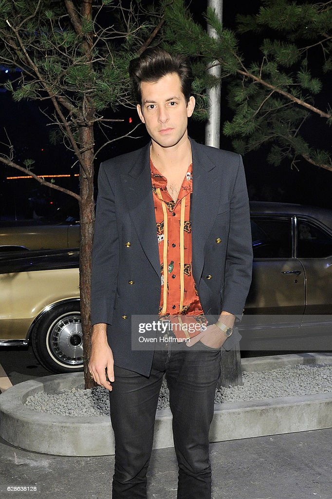 Mark Ronson attends the Coach 75th Anniversary: Women's Pre-Fall and Men's Fall Show - Front Row on December 8, 2016 in New York City.
