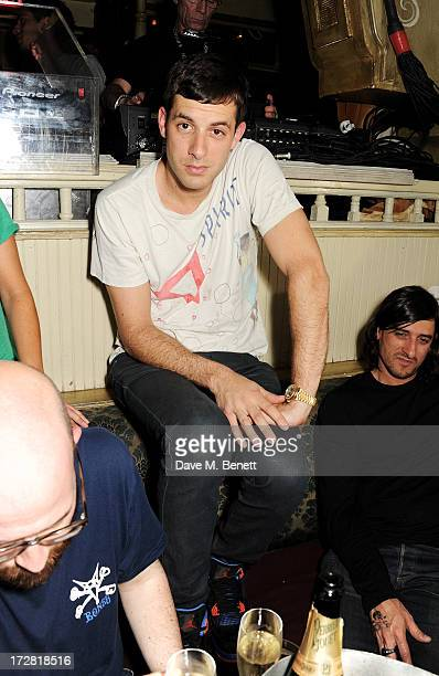 Mark Ronson attends the Red Bull Music Academy 4th of July party at The Box Soho on July 4 2013 in London England