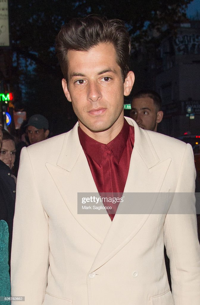 Mark Ronson attends the Vogue.com Met Gala Cocktail Partyat Search & Destroy on April 30, 2016 in New York City.