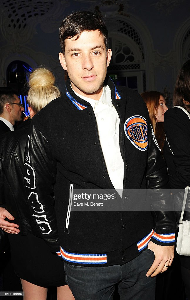 <a gi-track='captionPersonalityLinkClicked' href=/galleries/search?phrase=Mark+Ronson&family=editorial&specificpeople=853261 ng-click='$event.stopPropagation()'>Mark Ronson</a> attends the Warner Music Group Post BRIT Party In Association With Samsung at The Savoy Hotel on February 20, 2013 in London, England.