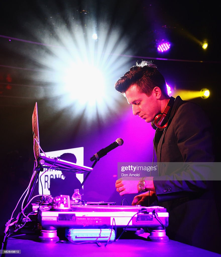 Mark Ronson plays for Nova's Red Room at Marquee Nightclub on February 2, 2015 in Sydney, Australia.