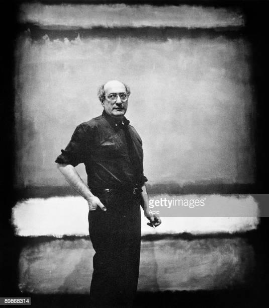 Mark Rothko american painter 1961