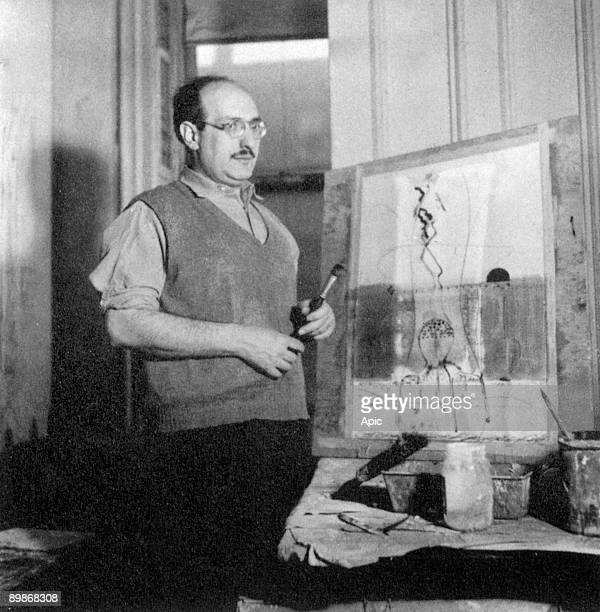 Mark Rothko American painter abstracted here about 1944 1945