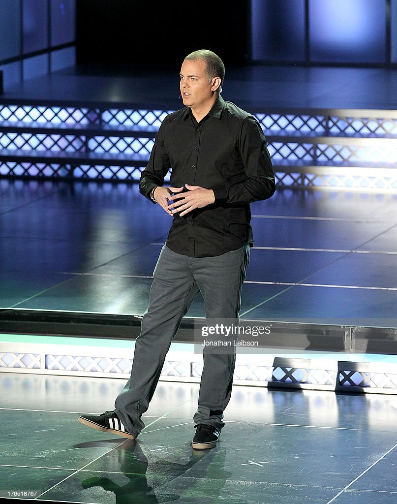 Mark Rubin, Infinity Ward Executive Producer speaks onstage during 'Call Of Duty: Ghosts' Multiplayer Global Reveal at LA Live on August 14, 2013 in Los Angeles, California.