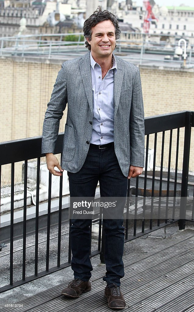 Mark Rufallo attends a photocall for 'Begin Again' on July 2, 2014 in London, England.