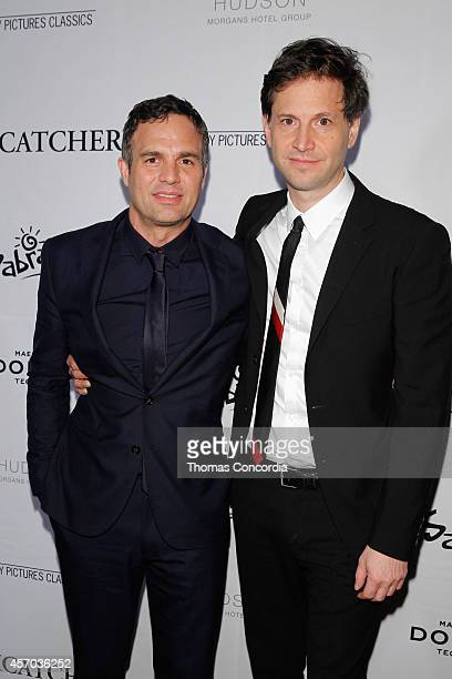 Mark Ruffalo and Bennett Miller attend Sony Pictures Classics' premiere party for 'Foxcatcher' sponsored by Dobel Sabra and Otterbox at the Hudson...
