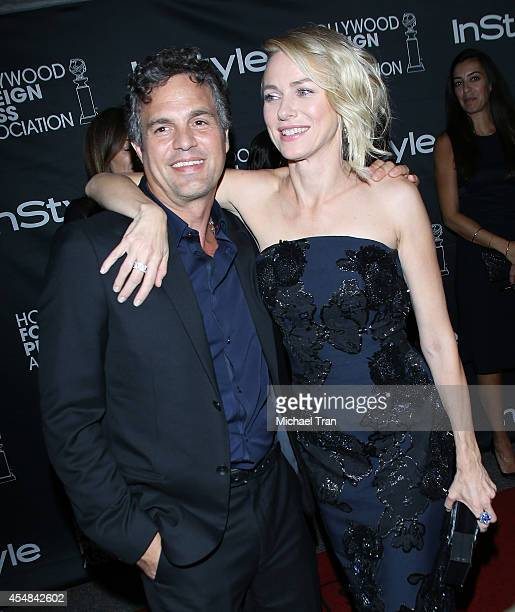 Mark Ruffalo and Naomi Watts arrive at the HFPA InStyle's 2014 TIFF Celebration held during the 2014 Toronto International Film Festival on September...