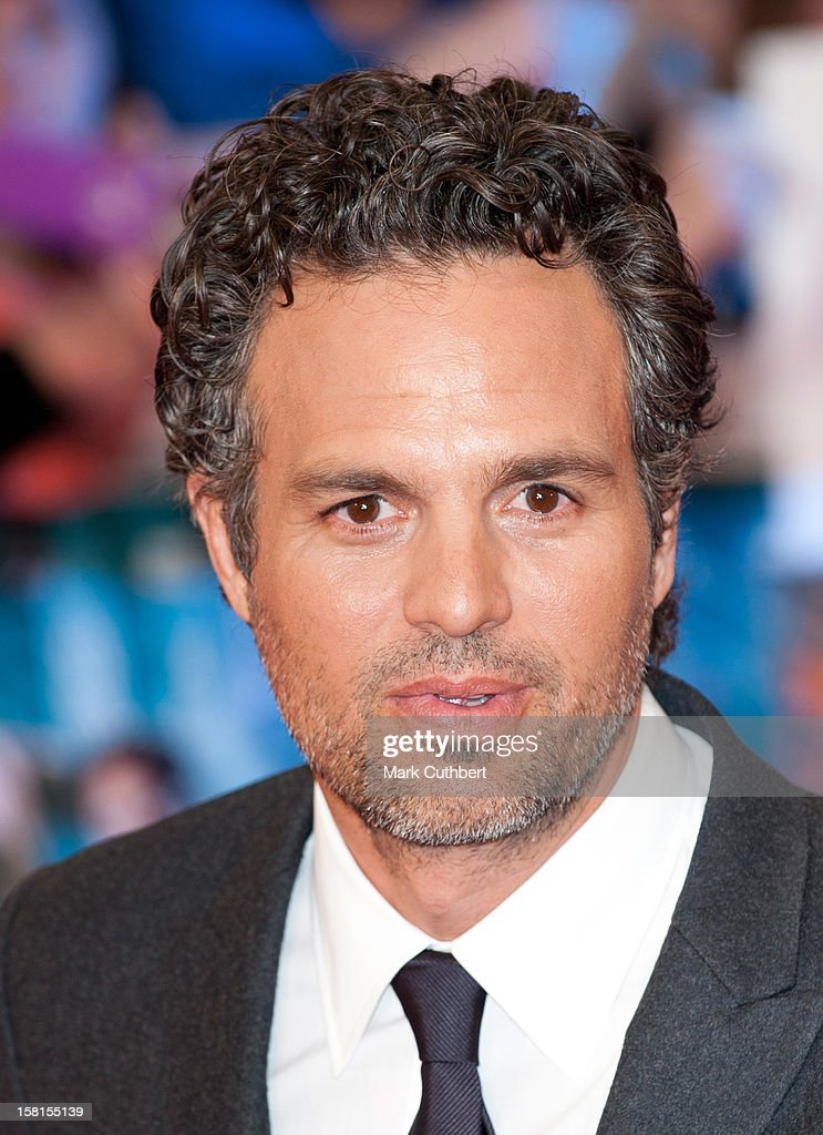 Mark Ruffalo Attends Marvel Avengers Assemble European Premiere At Vue Westfield On April 19, 2012 In London.