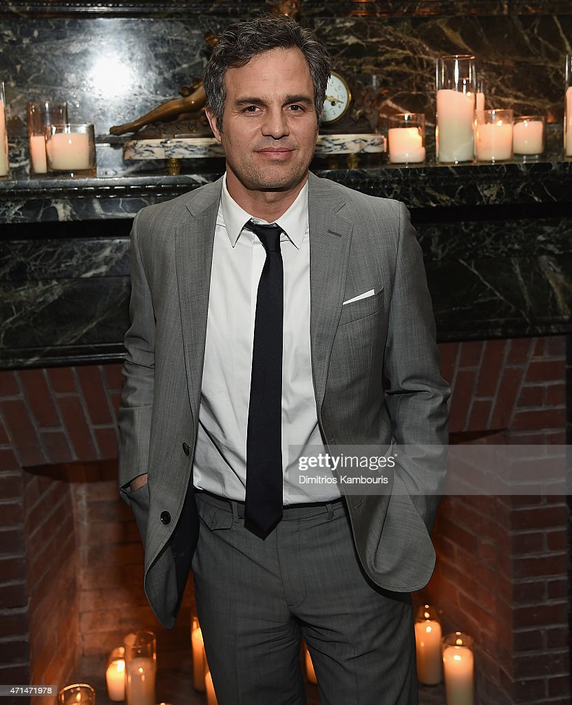 <a gi-track='captionPersonalityLinkClicked' href=/galleries/search?phrase=Mark+Ruffalo&family=editorial&specificpeople=209317 ng-click='$event.stopPropagation()'>Mark Ruffalo</a> attends the after party of Marvel's 'Avengers: Age Of Ultron' screening hosted by The Cinema Society and Audi at The New York Edition on April 28, 2015 in New York City.