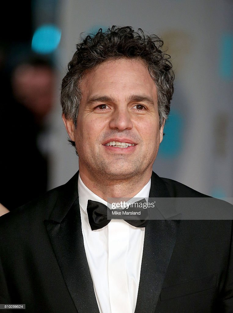 <a gi-track='captionPersonalityLinkClicked' href=/galleries/search?phrase=Mark+Ruffalo&family=editorial&specificpeople=209317 ng-click='$event.stopPropagation()'>Mark Ruffalo</a> attends the EE British Academy Film Awards at The Royal Opera House on February 14, 2016 in London, England.