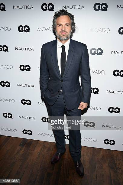 Mark Ruffalo attends the GQ Gentlemen's Fund cocktail reception awards ceremony at The Gent on October 22 2015 in New York City