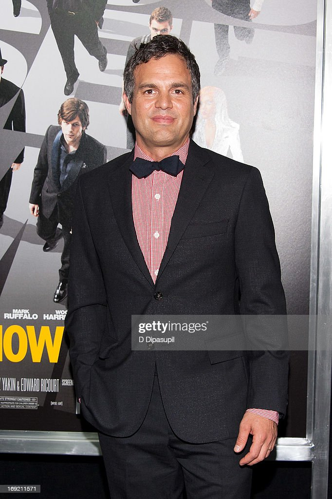 <a gi-track='captionPersonalityLinkClicked' href=/galleries/search?phrase=Mark+Ruffalo&family=editorial&specificpeople=209317 ng-click='$event.stopPropagation()'>Mark Ruffalo</a> attends the 'Now You See Me' premiere at AMC Lincoln Square Theater on May 21, 2013 in New York City.