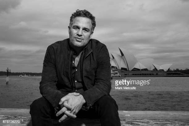 Mark Ruffalo poses during a photo call for Thor Ragnarok on October 15 2017 in Sydney Australia