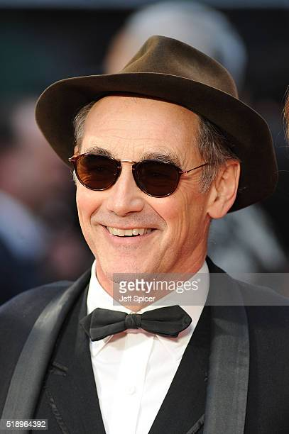 Mark Rylance attends The Olivier Awards with Mastercard at The Royal Opera House on April 3 2016 in London England