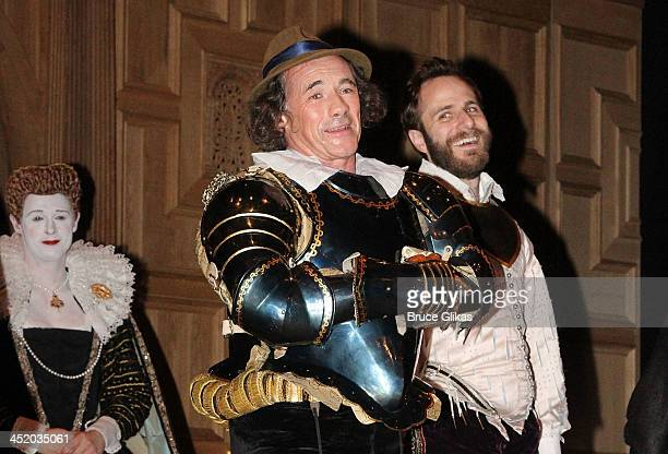 Mark Rylance takes his curtain call at the opening night of 'Richard III' on Broadway at The Belasco Theater on November 10 2013 in New York City