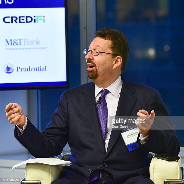 Mark S Edelstein attends The Commercial Observer Financing Commercial Real Estate at 666 Fifth Avenue on November 15 2016 in New York City
