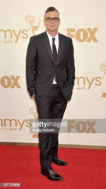 Mark Salling arrives at the Academy of Television Arts Sciences 63rd Primetime Emmy Awards at Nokia Theatre LA Live on September 18 2011 in Los...