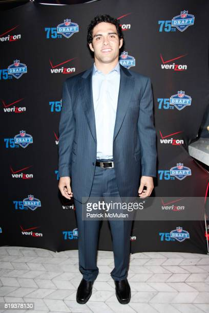 Mark Sanchez attends NFL and VERIZON Celebrate Draft Eve at Abe and Arthur's on April 21 2010 in New York City