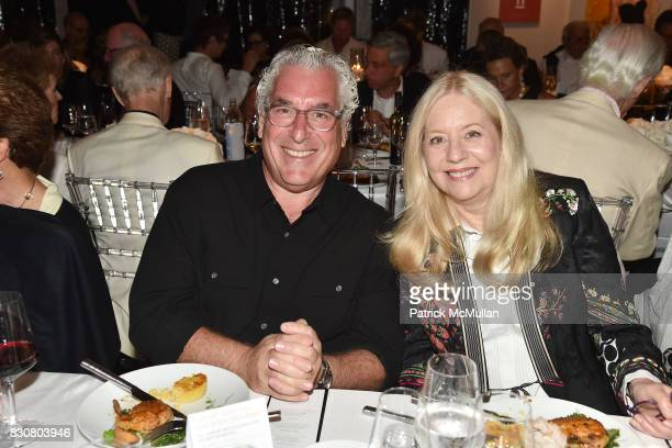 Mark Schneider and Michelle Cohen attend the Guild Hall 2017 Summer Gala Celebrating AVEDON'S AMERICA at Guild Hall on August 11 2017 in East Hampton...