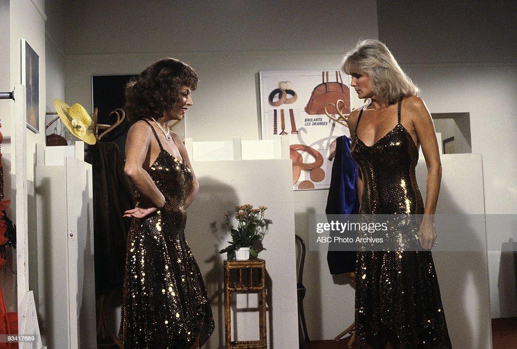 DYNASTY - 'Mark' - Season Three - 11/10/82, Alexis (Joan Collins) convinced Krystle's (Linda Evans) ex-husband to move to Denver.,