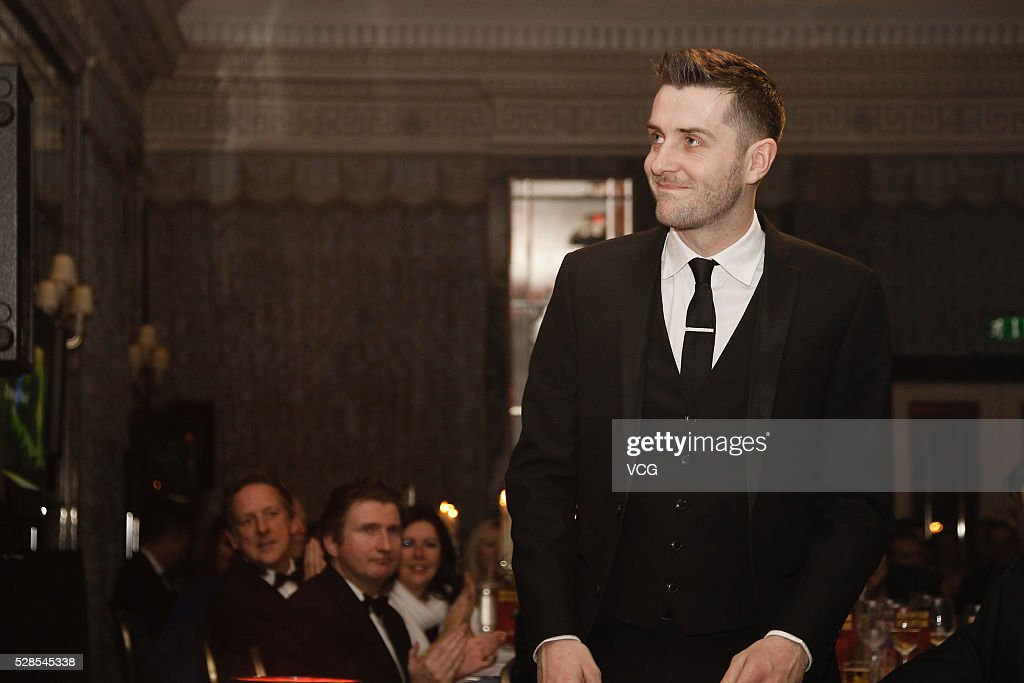 Mark Selby of England attends the annual end-of-season awards dinner on May 6, 2016 in Manchester, England.