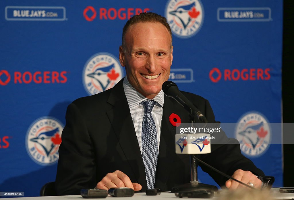 Toronto Blue Jays Introduce Mark Shapiro