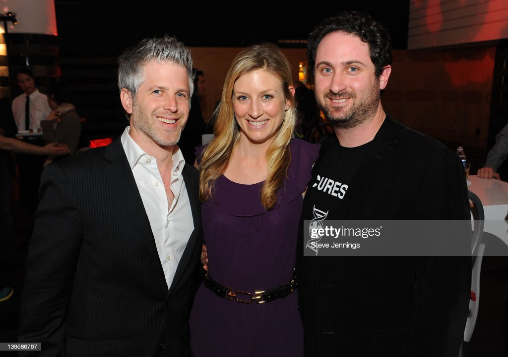 Mark Shedledski, Brian Singerman and Alisa Bork (L-R) attend the 3rd Annual TechFellow Awards at SF MOMA on February 22, 2012 in San Francisco, California.