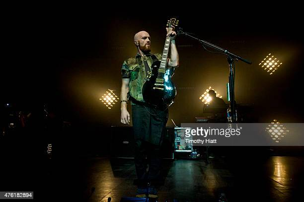 Mark Sheehan of The Script performs at the Riviera Theatre on June 6 2015 in Chicago Illinois