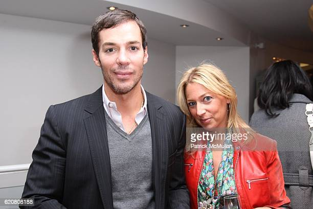 Mark Silver and Amy Berlin attend TRACY REESE Secret Garden Party at Tracy Reese Boutique on March 27 2008 in New York City