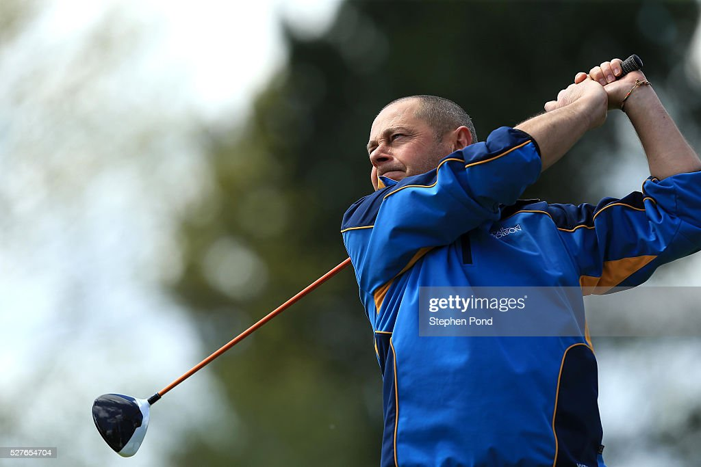 Mark Spooner of Glen Lodge Golf Club during the PGA Professional Championship East Qualifier at Gog Magog Golf Club on May 3, 2016 in Cambridge, England.