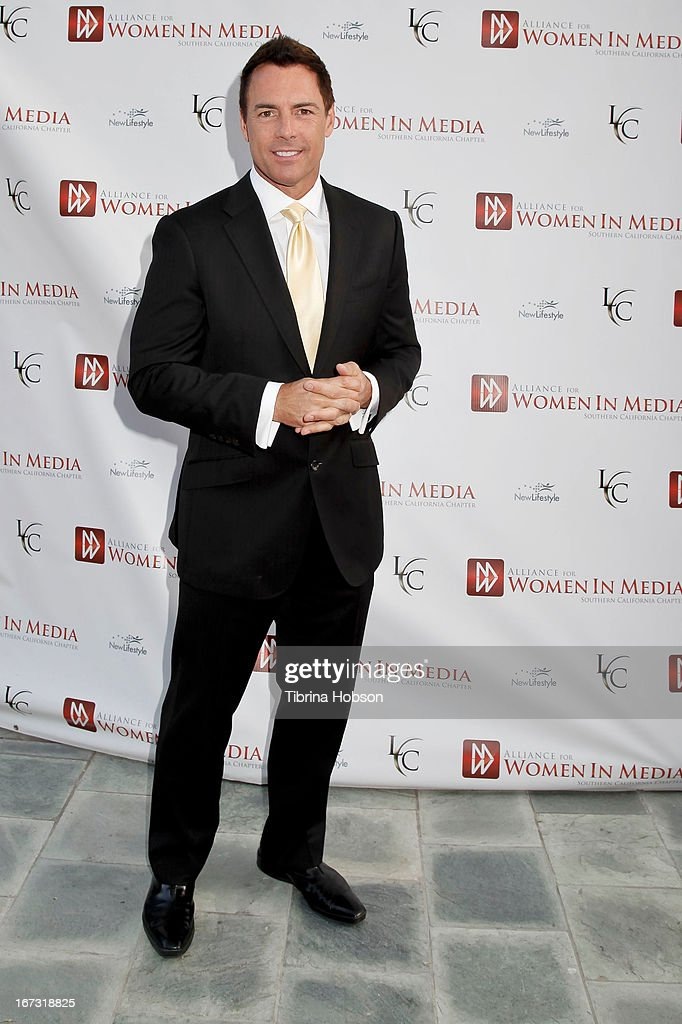 <a gi-track='captionPersonalityLinkClicked' href=/galleries/search?phrase=Mark+Steines&family=editorial&specificpeople=798659 ng-click='$event.stopPropagation()'>Mark Steines</a> attends the 56th annual Genii Awards at Skirball Cultural Center on April 23, 2013 in Los Angeles, California.