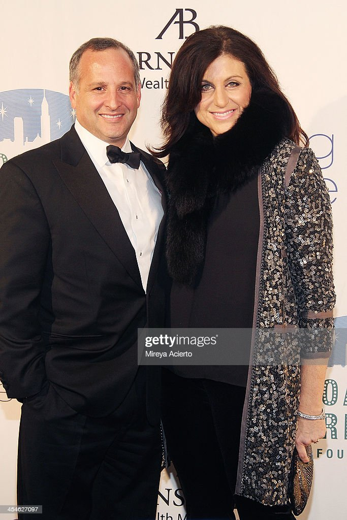 Mark Steinman and Amy Steinman attend the 2013 Broadway Dreams Foundation's 'Night Of Dreams' gala at Celsius on December 9, 2013 in New York City.