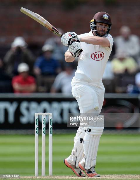 Mark Stoneman of Surrey bats during Day Four of the Specsavers County Championship Division One match between Somerset and Surrey at The Cooper...