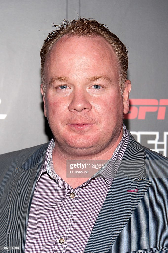 <a gi-track='captionPersonalityLinkClicked' href=/galleries/search?phrase=Mark+Stoops&family=editorial&specificpeople=4957711 ng-click='$event.stopPropagation()'>Mark Stoops</a> attends the ESPN The Magazine 10th annual Pre-Draft Party at The IAC Building on April 24, 2013 in New York City.