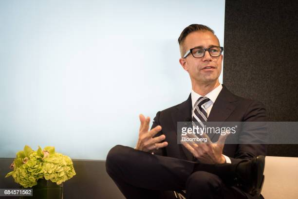 Mark Strefling chief operating officer of Whitebox Advisors LLC speaks during 'The Future of International Business Deals How to Position for...