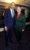Mark Strong and Martin Freeman arrive at the Jameson Empire Awards 2013 at The Grosvenor House Hotel on March 24 2013 in London England