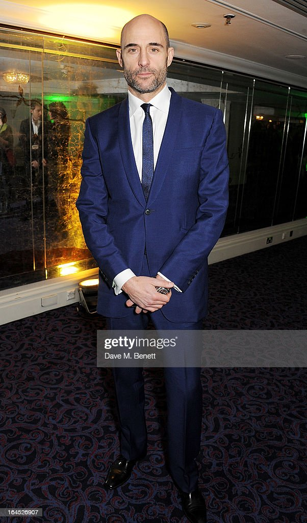 Mark Strong arrives at the Jameson Empire Awards 2013 at The Grosvenor House Hotel on March 24, 2013 in London, England.