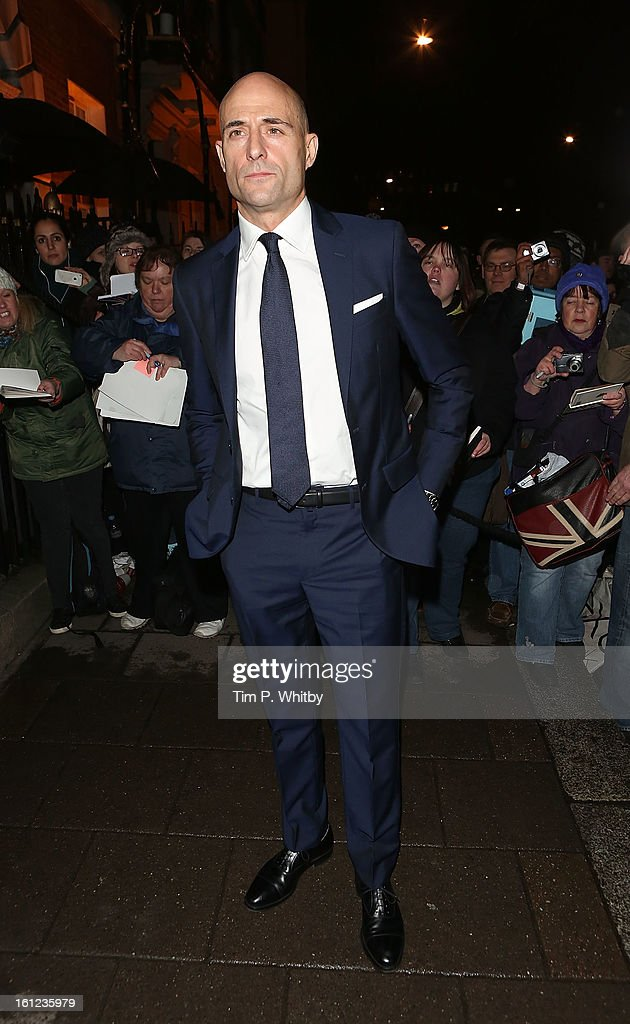 <a gi-track='captionPersonalityLinkClicked' href=/galleries/search?phrase=Mark+Strong&family=editorial&specificpeople=750895 ng-click='$event.stopPropagation()'>Mark Strong</a> attends the Charles Finch and Chanel pre-BAFTA dinner at Annabels on February 9, 2013 in London, England.