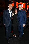 Mark Strong Liza Marshall and Rafe Spall attend The Moet British Independent Film Awards 2014 at Old Billingsgate Market on December 7 2014 in London...