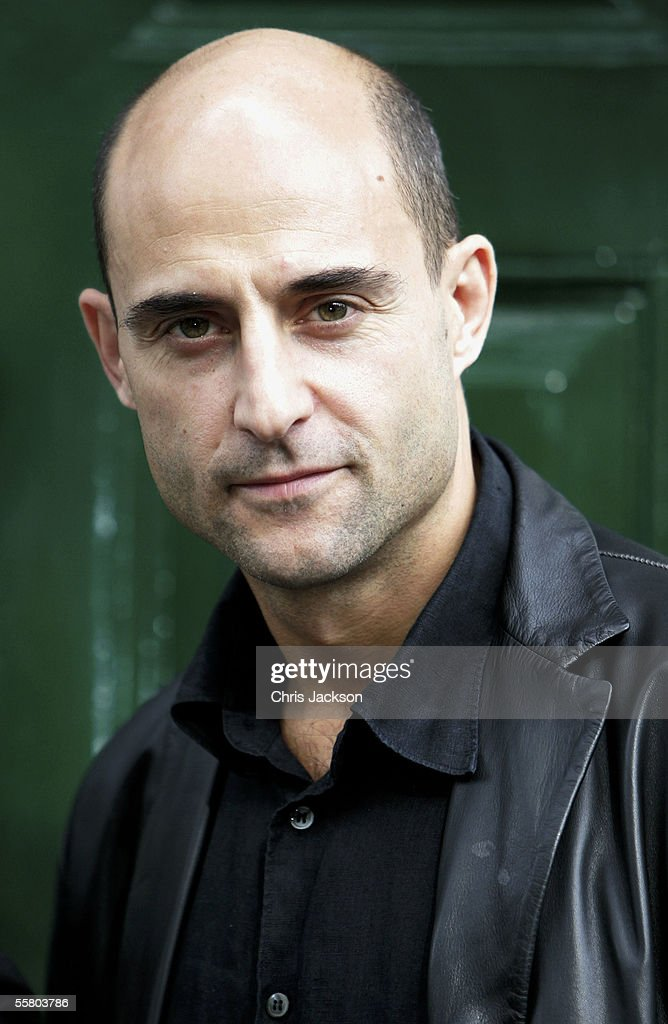 Mark Strong poses at the photocall for Roman Polanski's new production of Charles Dickens' ?Oliver Twist? outside the Dickens House Museum on September 26, 2005 in London, England.